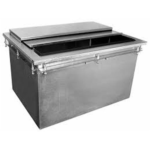 Glastender DI-IB30 Drop-In Ice Bin, 89 lb. Ice Storage Capacity - Central Restaurant Products