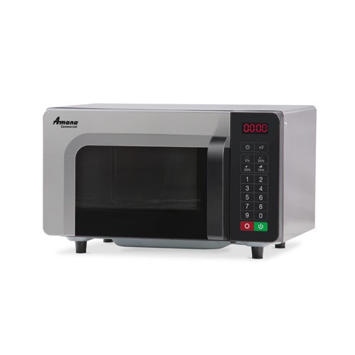 Amana RMS10TSA Light Duty Microwave - 20 Programmable Menu Settings, Stainless Steel Interior - Central Restaurant Products