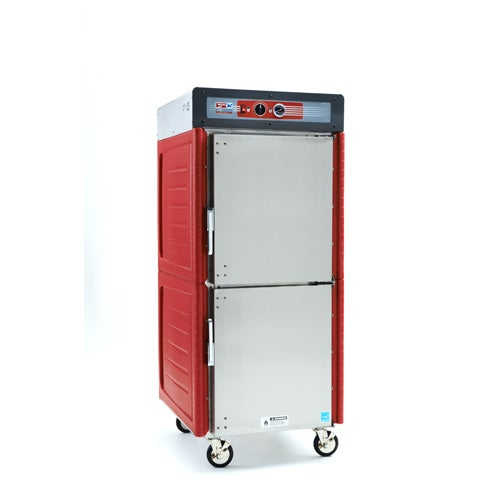 Metro C549-ASDS-U C5 4 Series Insulated Holding Cabinet, Full Height, Dutch Solid Doors, Universal Wire Slides, 120V, 60Hz, 1400W