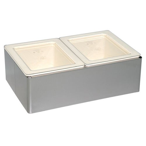 Cadco PS-CBC-6CP Cold Bay Pan Holder Kit - Central Restaurant Products