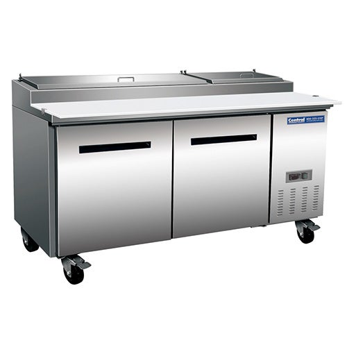 Central Exclusive 69K-014 Pizza Prep Table, 71