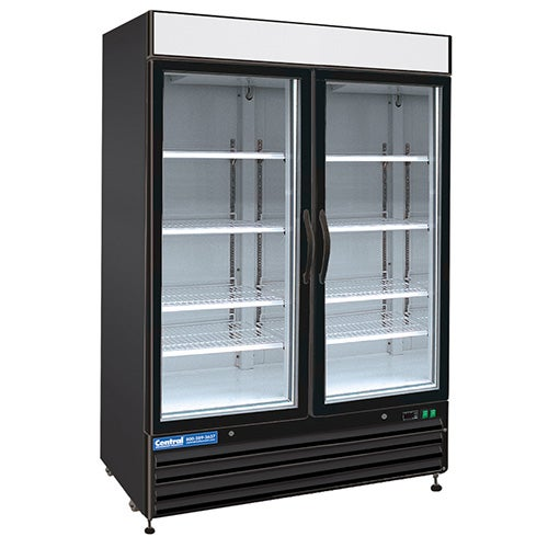 swing glass door merchandiser - Refridgerator Glass Door