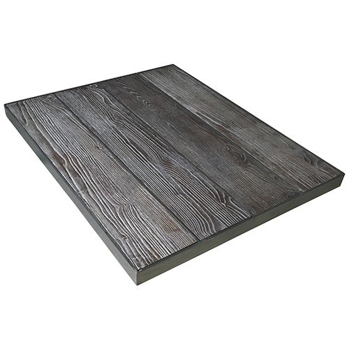 Dimensions Furniture Inc 8052 Distressed Wood And Metal Table Top