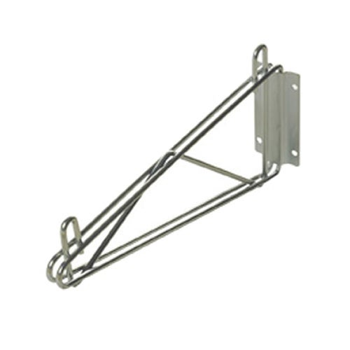 Focus Foodservice FWB24SCH Direct Mount Wall Bracket for Wire Shelving