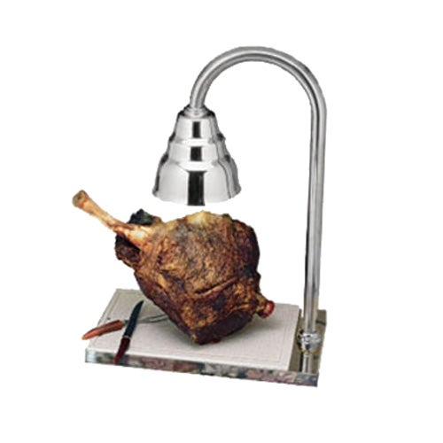 Bon chef ch carving station with heat lamp chrome