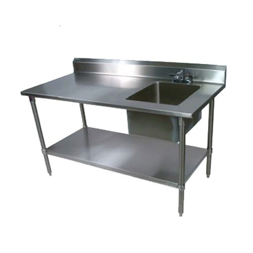 John Boos Ept8r5 3072ssk R Work Table 72 Quot W X 30 Quot D 18 300
