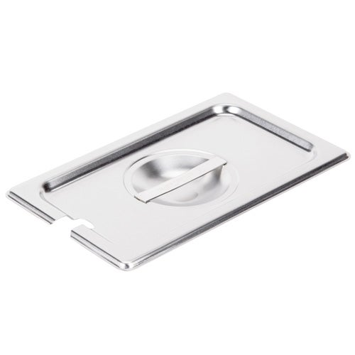 Vollrath 75240 Fourth-size Super Pan V slotted stainless steel cover