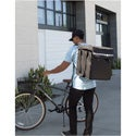 Cambro GBBP151417 Delivery Person Wearing Backpack
